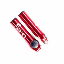 New Cycling Keirin CNC Bar Ends - Red Free P&P