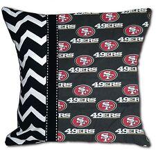 NEW SF San Francisco 49ers NFL Football Decorative Throw Pillow