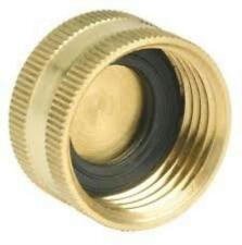 Swan YardMate Heavy Duty End Cap, Brass, FCBEC 00-HE703