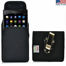 Turtleback Vertical Blackberry Passport Nylon Pouch Holster Metal Belt Clip