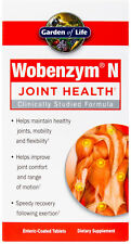 Wobenzym N, Garden of Life, 800 tablets