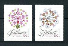 Iceland 2016 MNH Wild Icelandic Vegetation 2v S/A Set Campion Flowers Stamps