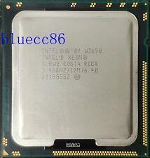 Intel Xeon W3690 SLBW2 3.4Ghz 6-Core 12M 6.40GT/s LGA1366  CPU Processor