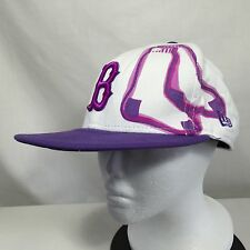 Boston Red Sox Purple Cap New Era Hat 59FIFTY Fitted 7 3/8 Baseball Genuine MLB