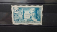 Timbres France 1f50 Exposition Paris 1937