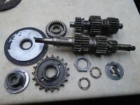 Triumph 650 TR6 TIGER TR6R Used Engine Parts Gear Set 1972 RB RB35