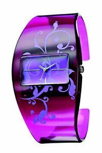 Modische Plastik-Spangen-Uhr von Mavis Cityline