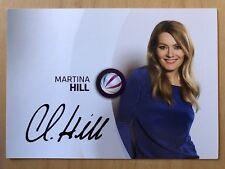 Martina Hill AK Sat 1 Knallerfrauen Autogrammkarte (2) original signiert