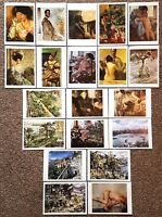 Set of 20 Art Postcards, The LOVIS CORINTH COLLECTION