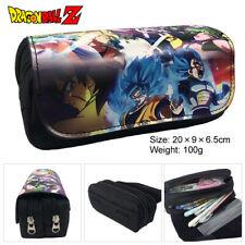 dragon ball colorful canvas zip pencil bag makeup handbags handbag