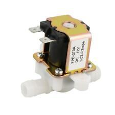 12V OD 12mm Normalement fermé N/C Valve admission d'eau électrovanne magnétique