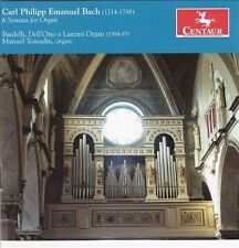 Manuel Tomadin-Carl Philipp Emanuel Bach CD NEW