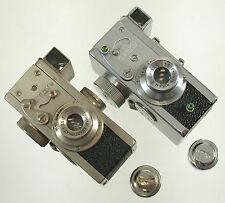 RIKEN Steky NICKEL Made in Tokyo Japan Stekinar Anastigmat 16mm miniature camera