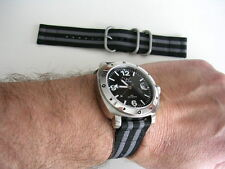 24mm Olive NATO G10 2pc UTC Military nylon strap army watch band IW SUISSE 20 22