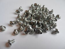 Pack of 50 - No.10 x 1/4 - 4.8 x 6.5 Pozi Pan Zinc Plated Self Tap Screws#10L142