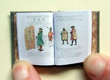 Dollshouse Miniature Book - The Boston Tea Party