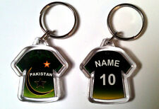 PAKISTAN 2011 WORLD CUP CRICKET SHIRT KEYRING- ANY NAME