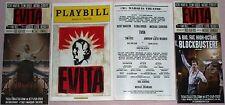 Evita Broadway Playbill + Ads, Opening Night Date, Ricky Martin, Elena Roger