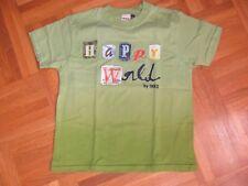 """T-SHIRT """"IKKS"""" - 6 ans - vert dégradé + motif devant - manches courtes - A970"""