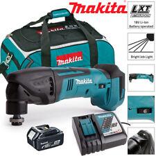Makita DTM50Z 18 V Oscilante Multiherramienta Con 1 X 5Ah BL1850, DC18RC y LXT400 Bolsa
