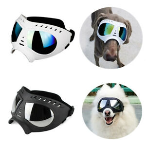 Fashion Pet Dog Goggles Glasses UV Protection Waterproof For Large Dogs