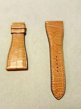 Roger Dubuis Salmon Brown Leather Strap for Much More 27M