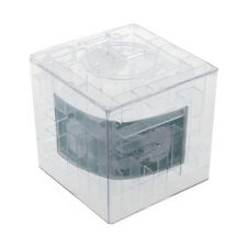 NEW MONEY MAZE COIN BOX PUZZLE GIFT PRIZE SAVING BANK LW