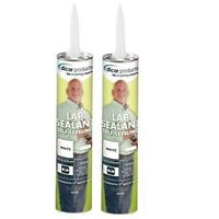 2 Pack Dicor Self-leveling Lap Sealant White 501LSW 502LSW RV Roof TPO EPDM
