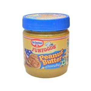 FunFoods Peanut Butter - Crunchy, 340 g PET With Free Shipping Worldwide To All