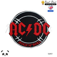 Ac Dc Music Band Embroidered Iron On Sew On PatchBadge For Clothes etc