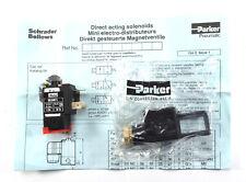 Parker 850 MTL Magnetventil 850MTL 220V 10 bar 6VA 50 Hz mit Stecker NEU