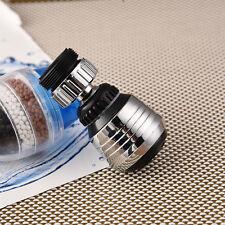 360 Degree Water Bubbler Swivel Head Saving Tap Faucet Aerator Filter Kitchen