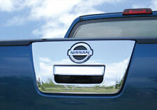 FOR NISSAN FRONTIER NAVARA D40 05+UTE CHROME TAILGATE HANDLE SURROUND COVER TRIM