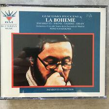 PUCCINI: Boheme - Pavarotti/Freni - Sanzogno - Live (IT 2-CD-Box BMCD 007 / neu)