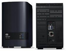 Western Digital 16TB WD My Cloud EX2 Ultra Network HD NAS 8TB x 2 WDBVBZ0160JCH