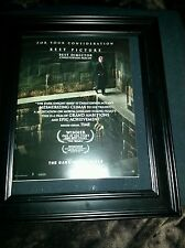 Batman The Dark Knight Rises Rare Original Oscar Promo Poster Ad Framed!
