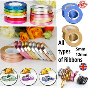 50M Curling String Balloon Ribbon Colour Balloons Weight Gift Decoration Fncy UK