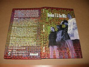 Booker T & The MGs 3 cd Long Case Format 65 Tracks 1998 No Inside Booklet Ex co