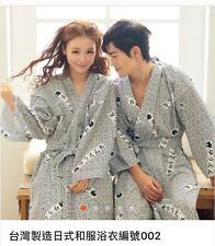 """Women Asian Art Kimono Yukata Cotton Japanese Bathrobe Robe Gown Sleepwear 48"""""""