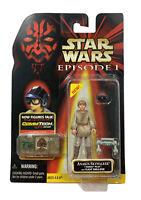 Star Wars Episode I Naboo Pilot Anakin Skywalker Commtech Chip Figure 1999 NEW
