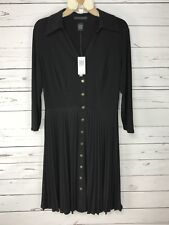 Grace Elements Dress Womens Size Medium Black New With Tags