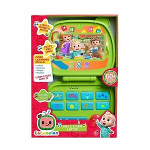 Cocomelon SING & LEARN LAPTOP 60+ Learning Phrases LIGHTS SOUNDS MUSIC Christmas