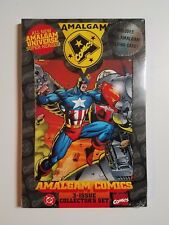 AMALGAM UNIVERSE: Collector's Set NM+ (Marvel/DC,1996) Very Rare! Sealed!