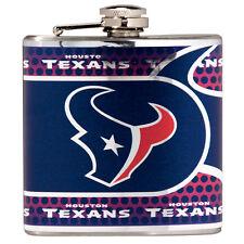 HOUSTON TEXANS NFL Flask 6 oz. Stainless Steeel NEW
