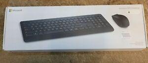 Microsoft PT3-00006 Wireless Desktop 900 Keyboard and Mouse - Black (REF 109)