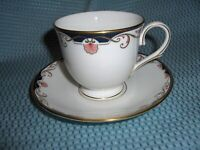 LENOX GEORGIAN SHELL CUP & SAUCER - PERFECT CONDITION - BEAUTIFUL!