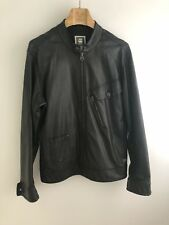G-Star RAW Defend pl slim 3d jacket Faux Leather Men's. Size Large