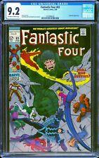 Fantastic Four #83 CGC 9.2 -- 1969 -- Inhumans Kirby Sinnott cover #2103994020