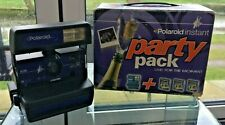 Polaroid 636 Camera Instant Party Pack, in box.Photography,Vintage(b66)