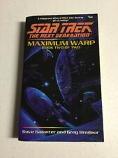 Maximum Warp Book Two:  Forever Dark Star Trek The Next Generation, No 63